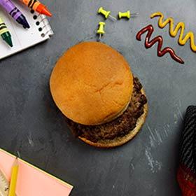 All-American Angus Hamburger