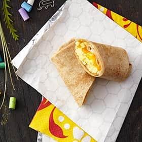 Egg & Cheese Breakfast Burrito