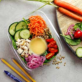 Baby Spinach Chicken Salad