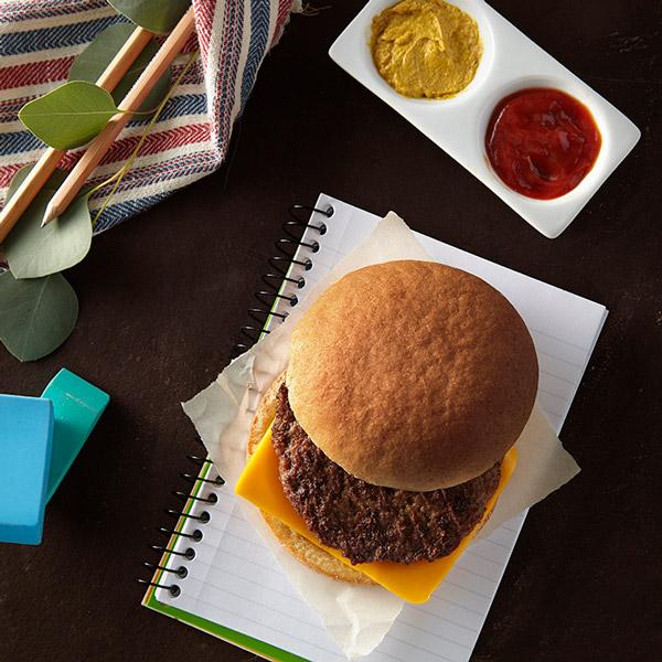 Gluten-Free Angus Cheeseburger