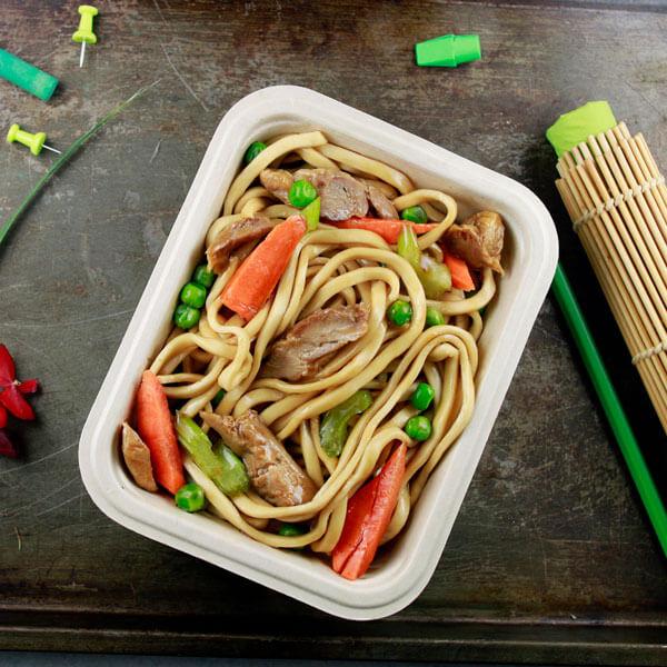 Chicken Lo Mein Noodles