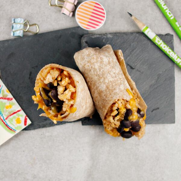 Rice & Bean Burrito with Cheese