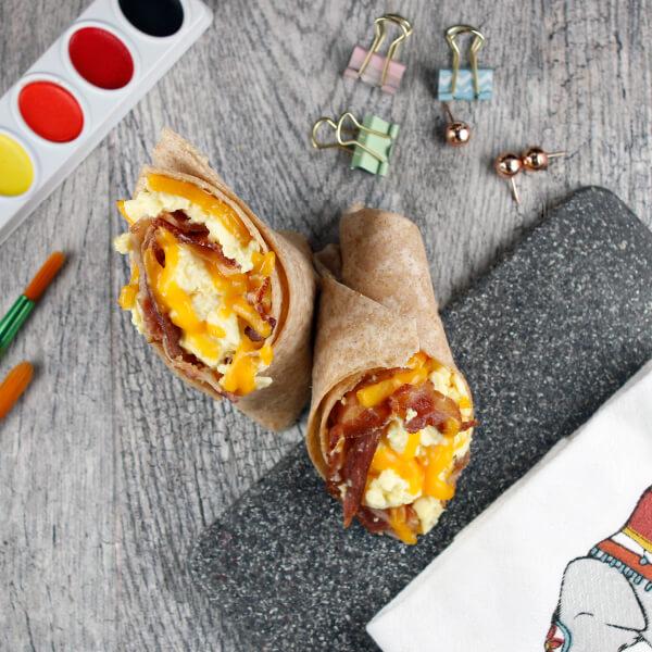 Bacon, Egg & Cheese Burrito