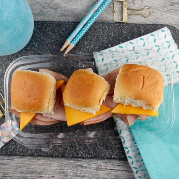 Ham & Cheese Sliders