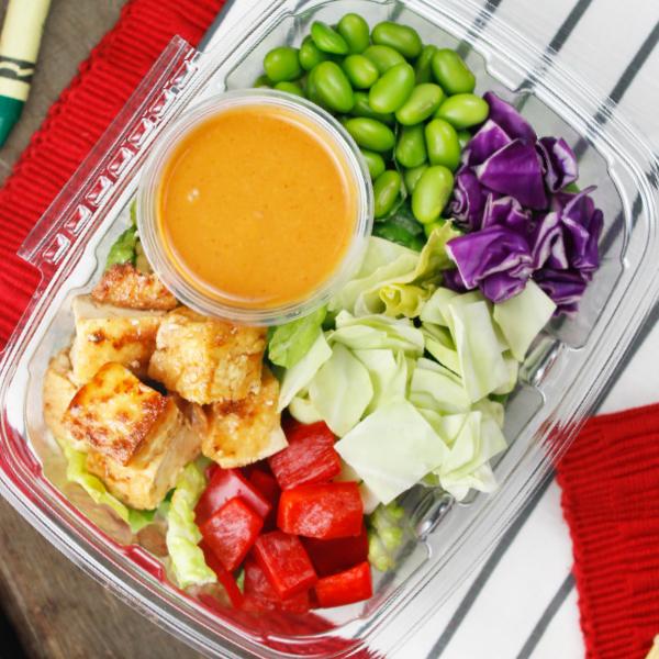 Asian Chopped Salad with Tofu