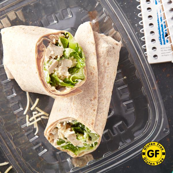 Gluten-Free Chicken Caesar Wrap