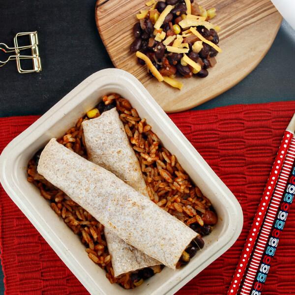 Southwest Bean & Corn Flautas