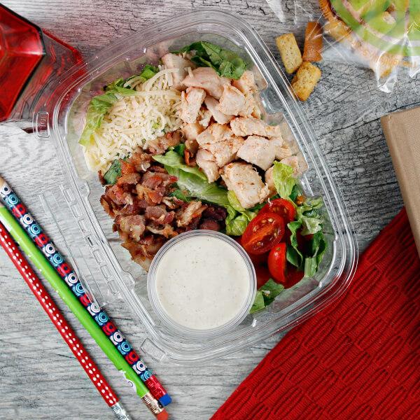 Chicken Bacon Caesar Salad