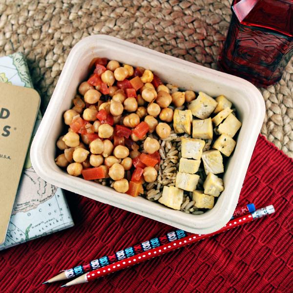 Chana Masala with Tofu